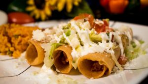 Flautas - Mexican Food - Frida's Hawaii